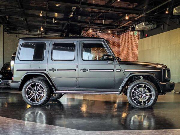 Benz G400D ด้านข้าง