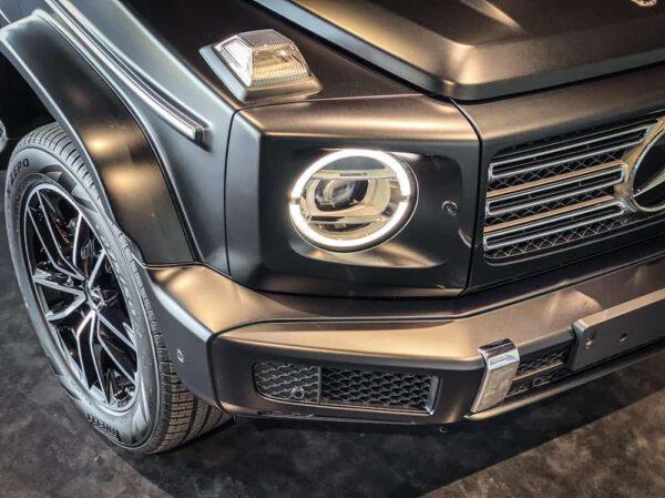 ไฟหน้า Benz G400D