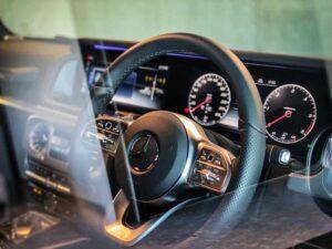 พวงมาลัย Benz G400D